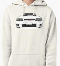 Nissan Skyline R33 GT-R (front) Hoodie