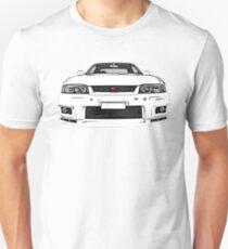 Nissan Skyline R33 GT-R (front) Unisex T-Shirt