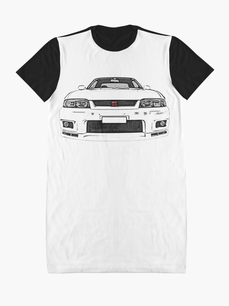 Nissan Skyline R33 GTT T Shirt Nismo Tuning Tuner JDM modifié Turbo Voiture