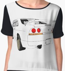 Nissan Skyline R33 GT-R (semi back) Chiffontop