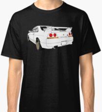 Nissan Skyline R33 GT-R (semi back) Classic T-Shirt