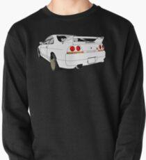Nissan Skyline R33 GT-R (semi back) Sweatshirt