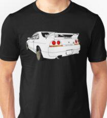 Nissan Skyline R33 GT-R (semi back) Unisex T-Shirt