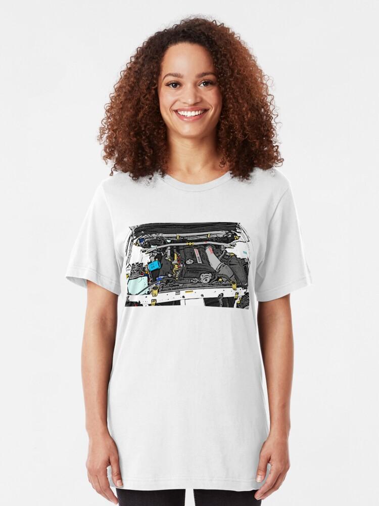 Alternative Ansicht von RB26DETT Slim Fit T-Shirt
