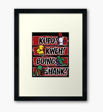 What Does the Tonberry Say? Framed Print