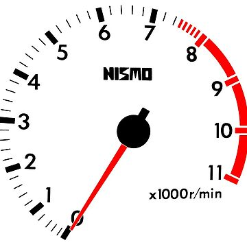 NISSAN スカイライン (NISSAN Skyline) R32 NISMO rev counter [alternative version] von officialgtrch