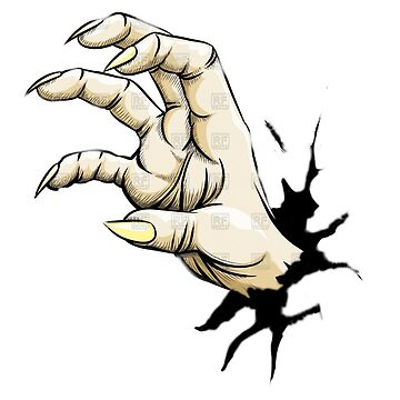 Zombie Hand by GalloPolloLoco
