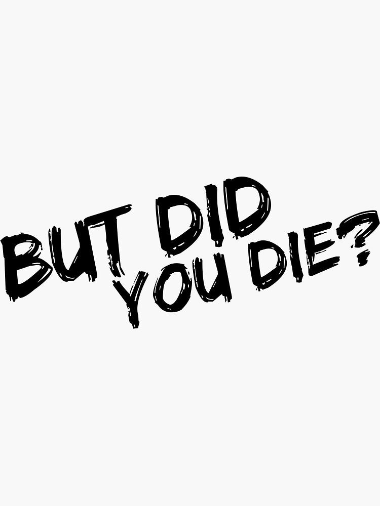 Pero moriste de Katesortino