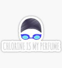 Chlorine is My Perfume Sticker
