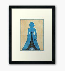 Elizabeth cool design Bioshock infinite Framed Print