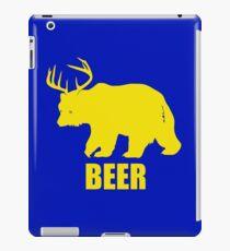 Beer Deer Bear iPad Case/Skin