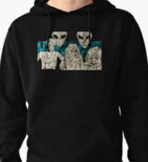 Communion Blue Shirt by Allie Hartley  Pullover Hoodie