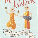 Merry Krishnas by Ikado Art