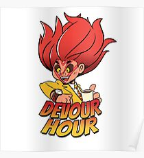 Devour Hour Poster