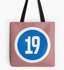 19 Tote Bag