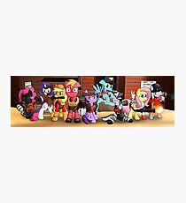 Pony Fortress 2 Photographic Print