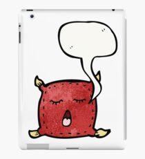 pillow talking cartoon iPad Case/Skin