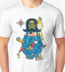 Pirate Portrait Unisex T-Shirt