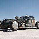 Hot Rod on the salt 1 by Frank Kletschkus