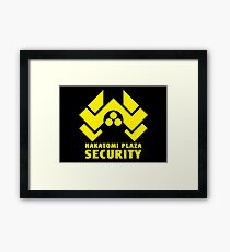 Security Plaza Framed Print