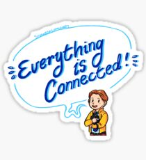 Everything is Connected! Sticker