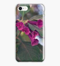 flowers through lens iPhone Case/Skin