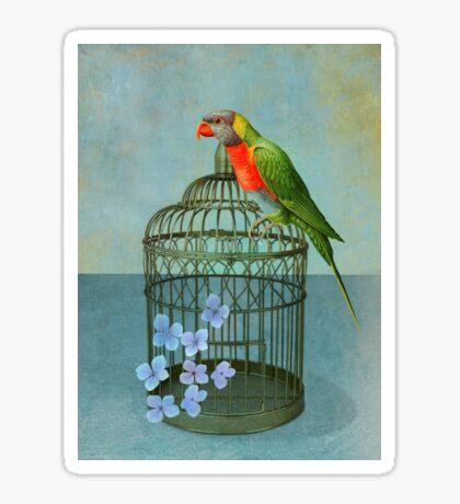 The Parrot Sticker