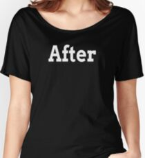 BEFORE AFTER TRANSFORMATION FAMILY GYM WORKOUT Women's Relaxed Fit T-Shirt