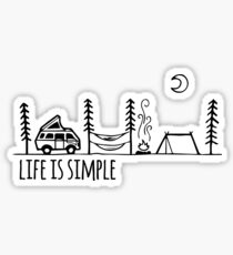 Vie simple Sticker