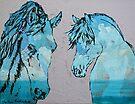 Sunny Day Horses by Juhan Rodrik