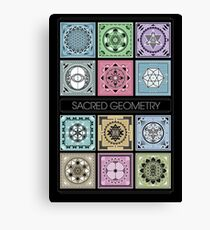 SACRED GEOMETRY - ARCHITECTURE OF THE UNIVERSE Canvas Print