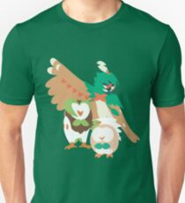 Rowlet Evolution Unisex T-Shirt