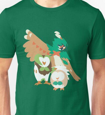 Rowlet Evolution Unisex T-Shirt