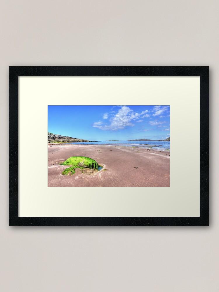 Alternate view of Clashnessie Beach Framed Art Print