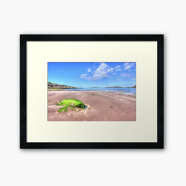 Clashnessie Beach Framed Art Print