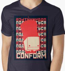 Bolshe-Block Theater Mens V-Neck T-Shirt