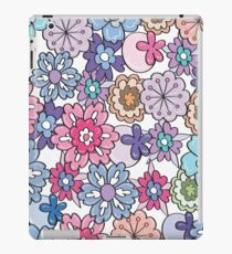 funny flowers  iPad Case/Skin