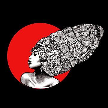 Tribal Head Piece by martin1989
