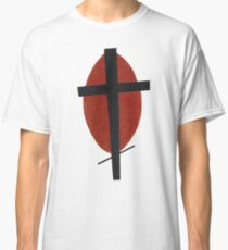 suprematism abstract art cross Classic T-Shirt