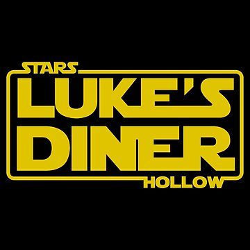 Stars Hollow: Luke's Diner (Yellow) by Paulychilds
