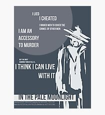 In the Pale Moonlight Photographic Print