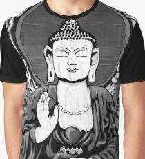 Gautama Budda Crop Graphic T-Shirt