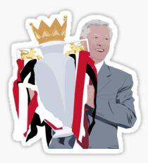 Sir Alex Ferguson - Manchester United FC Sticker