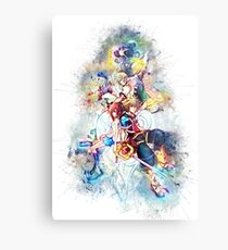 Kingdom Hearts Family Metal Print