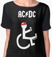 Funny Ac Dc Axl Chiffon Top