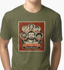 Legends of Football Soccer Cantona Drogba Tri-blend T-Shirt