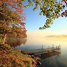 Early October Morning at Bird Lake by Debbie  Roberts