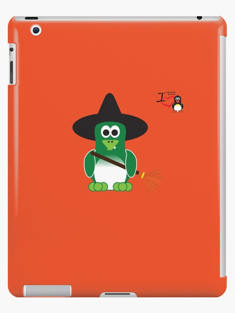 Halloween Penguin - Witch by jimcwood