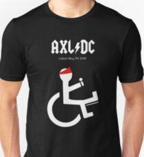 Funny AXL/DC Lisbon Unisex T-Shirt