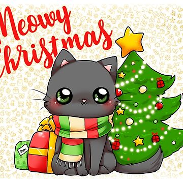 Meowy Christmas  - Merry Christmas cat by linkitty